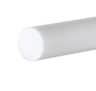 Acetal Natural Rod 8mm dia x 500mm