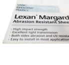 Lexan Margard Sheet 500 x 500 x 4mm