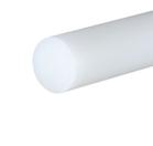 Polypropylene Natural Rod 10mm dia x 500mm
